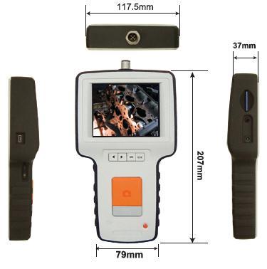 fiberscope size